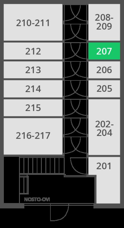 1.4 m2 | Var 207 I