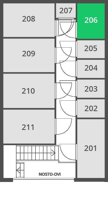 3.2 m2 | Var 206 O
