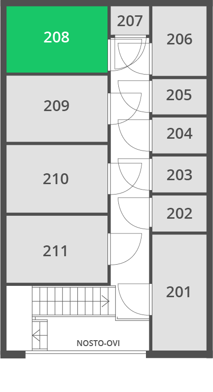 5.7 m2 | Var 208 O