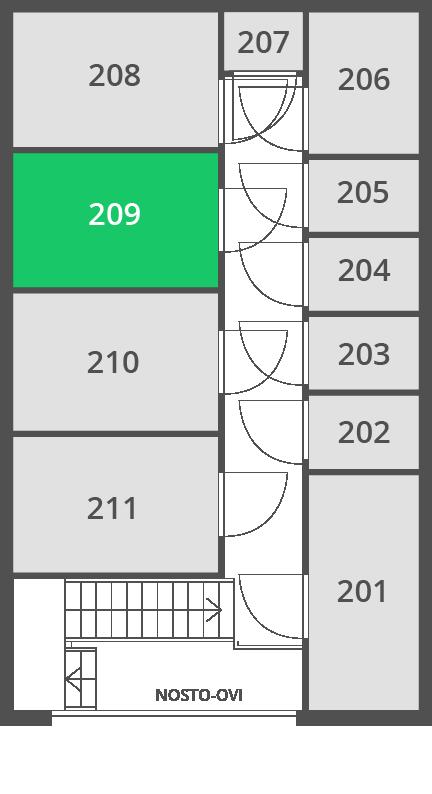 5.7 m2 | Var 209 O