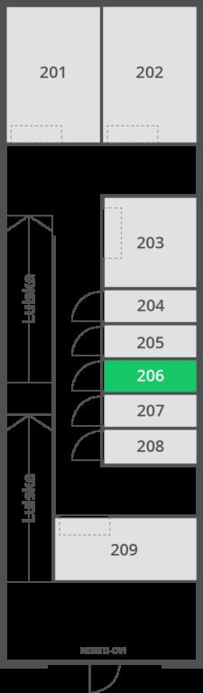 6 m2 | Var 206-207 D