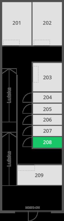 2,9 m2 | Var 208 D